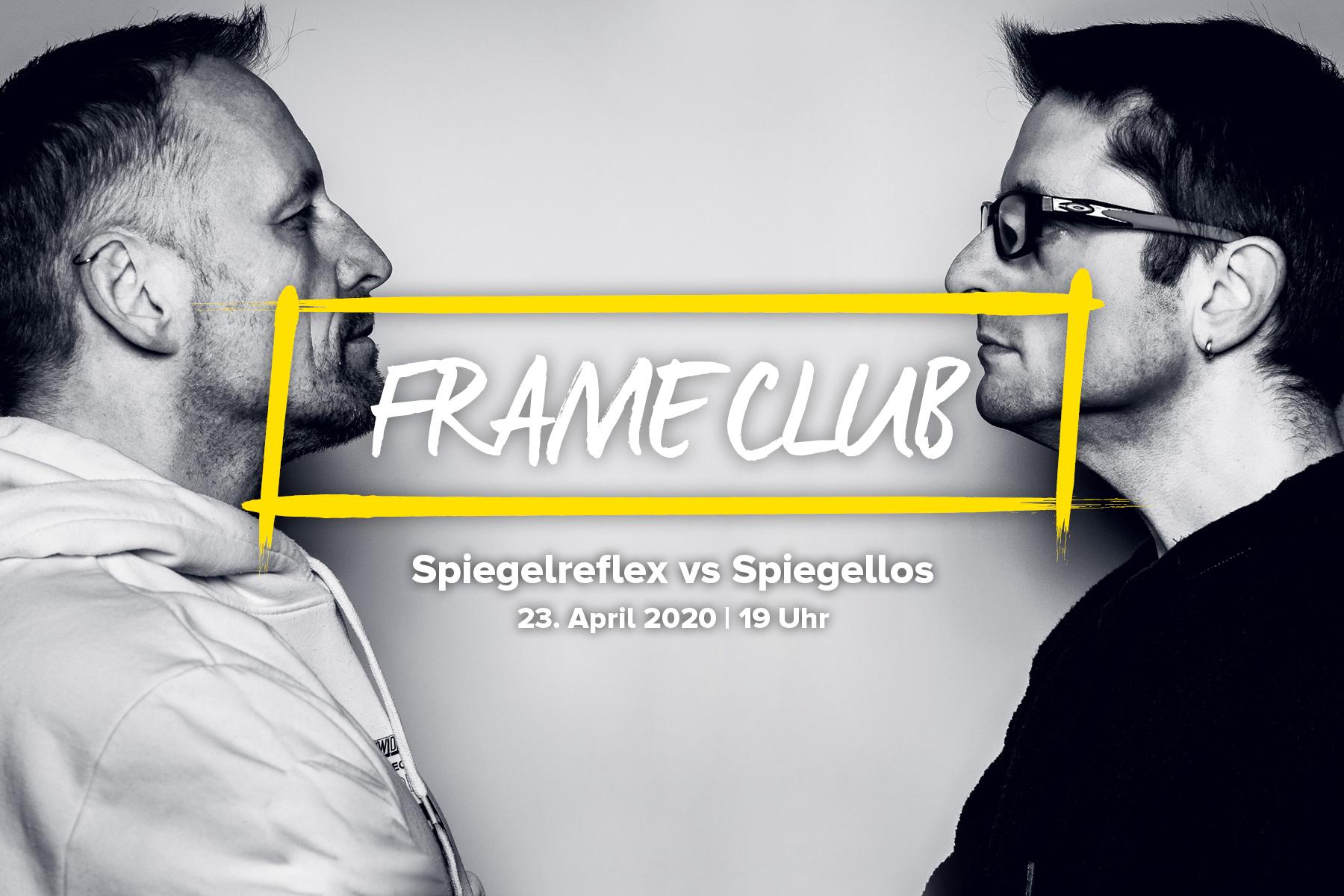 Frame Club Spiegelreflex vs spiegellos
