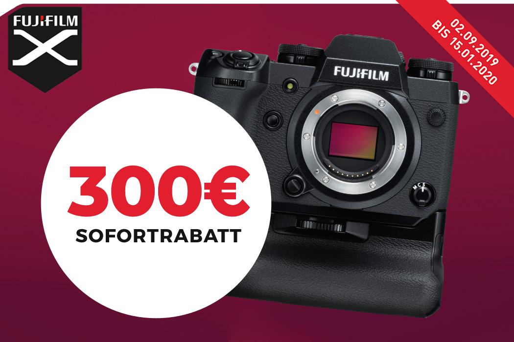 Fujifilm X-H1 Sofortrabatt Aktion
