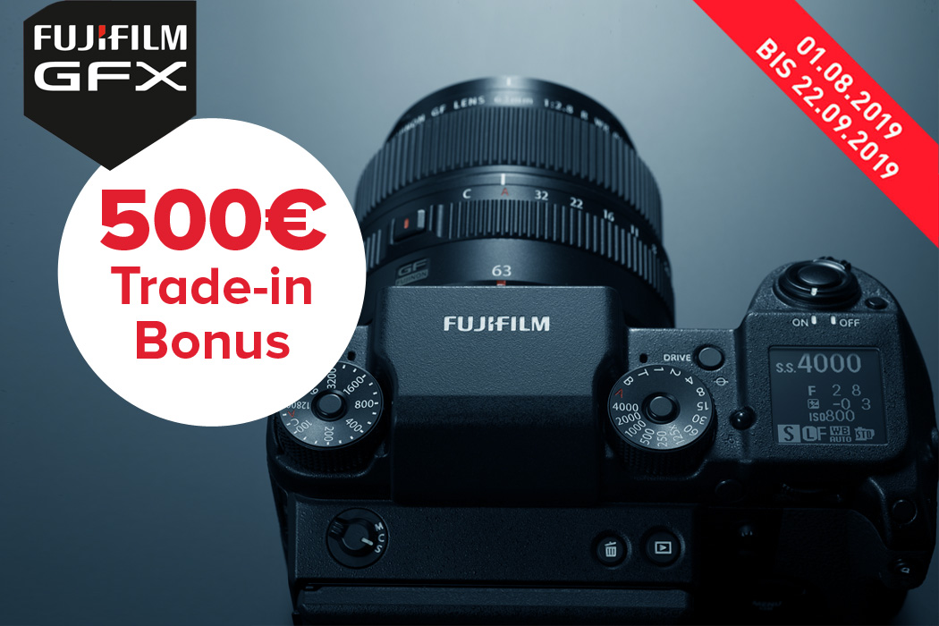 Fujifilm GFX 50S Trade-in Aktion