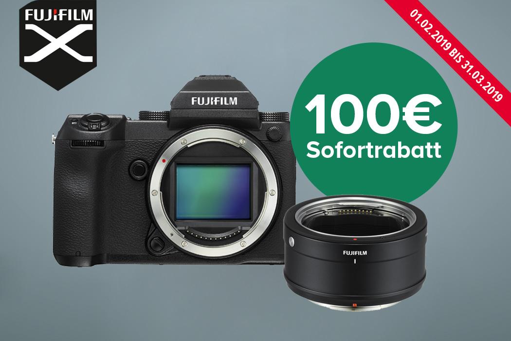 Fujifilm GFX 50S Adapter Set Aktion