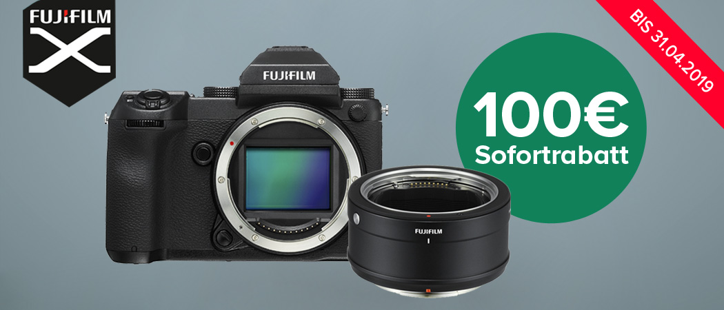 Fujifilm GFX Adapter Aktion