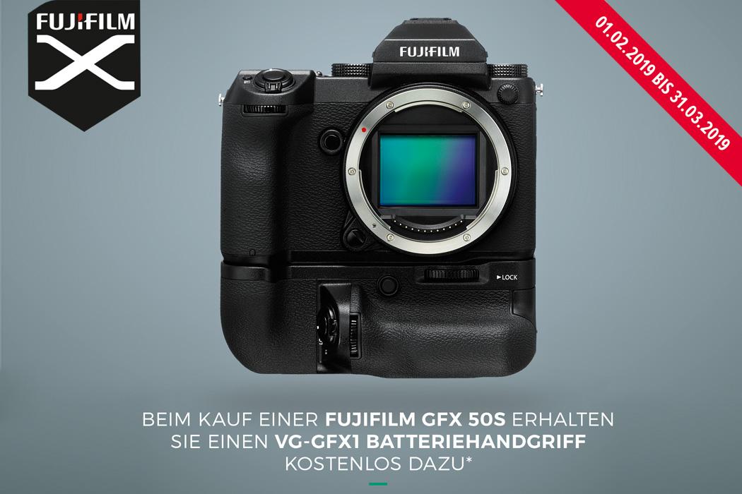 Fujifilm GFX 50S Batteriehandgriff