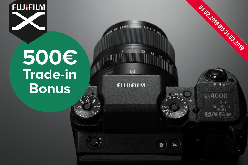Fujifilm GFX 50S Trade in Aktion