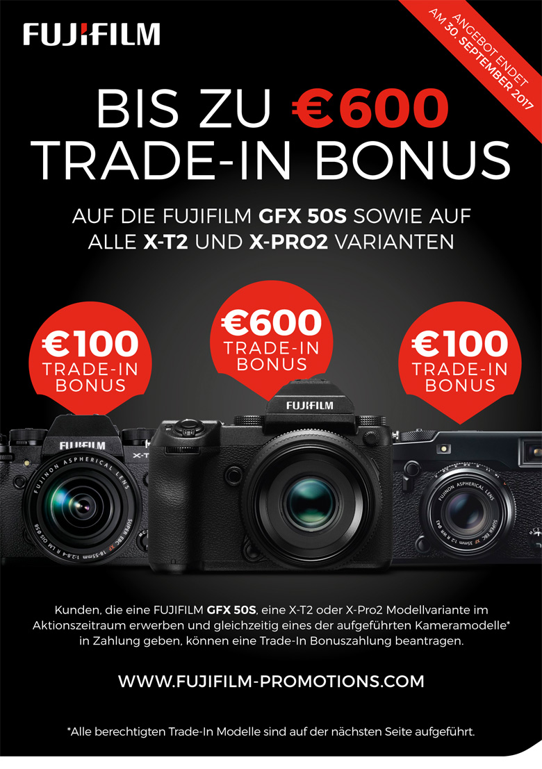 Fujifilm Trade-in Aktion