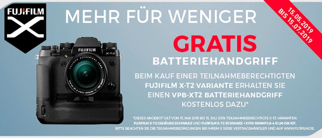 Fujifilm X-T2 Aktion