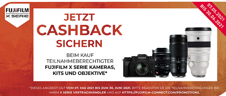 Fujifilm X Cashback