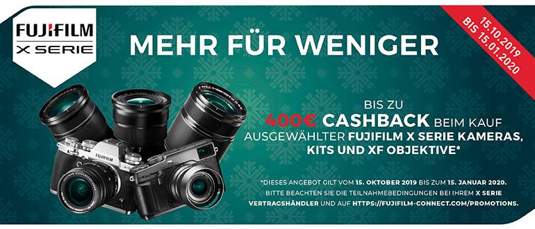 Fujifilm Cashback Aktion