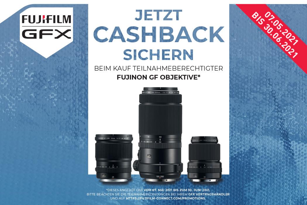 Fujifilm GF Cashback