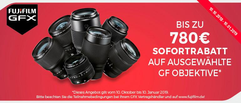 Fujifilm GF Sofortrabatt