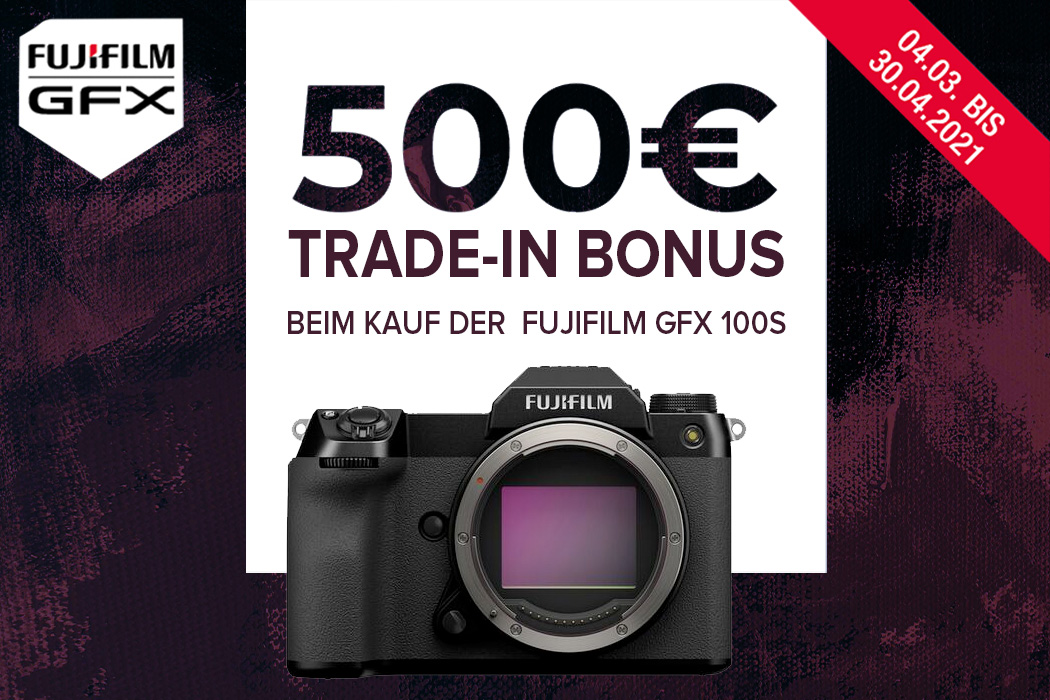 Fujifilm GFX 100S Trade-in Aktion