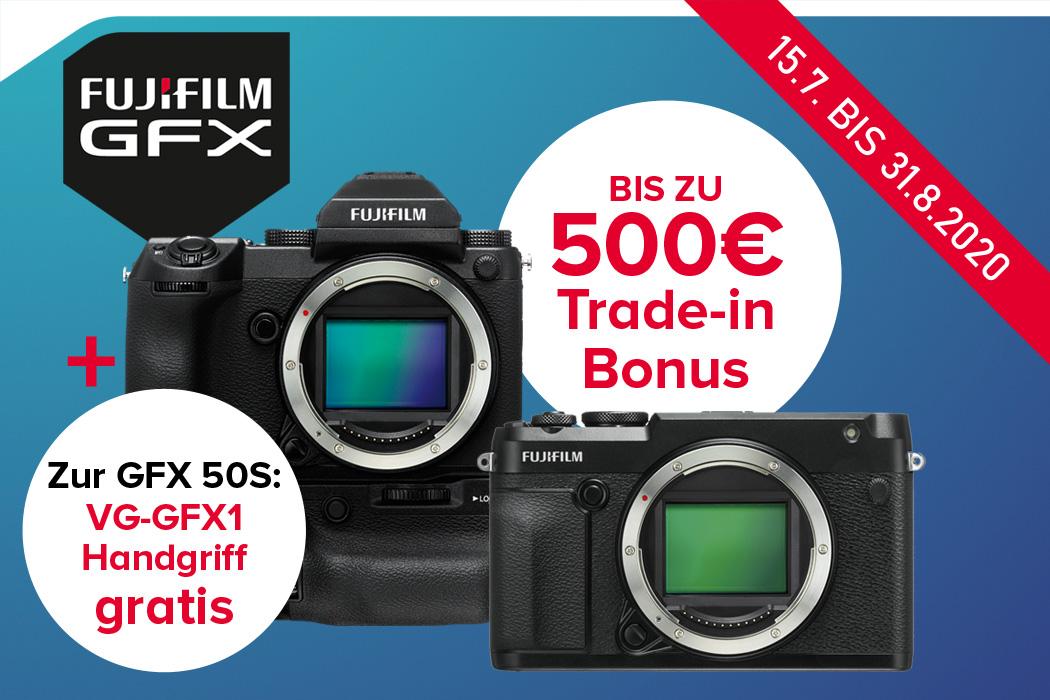 Fujifilm GFX Aktionen