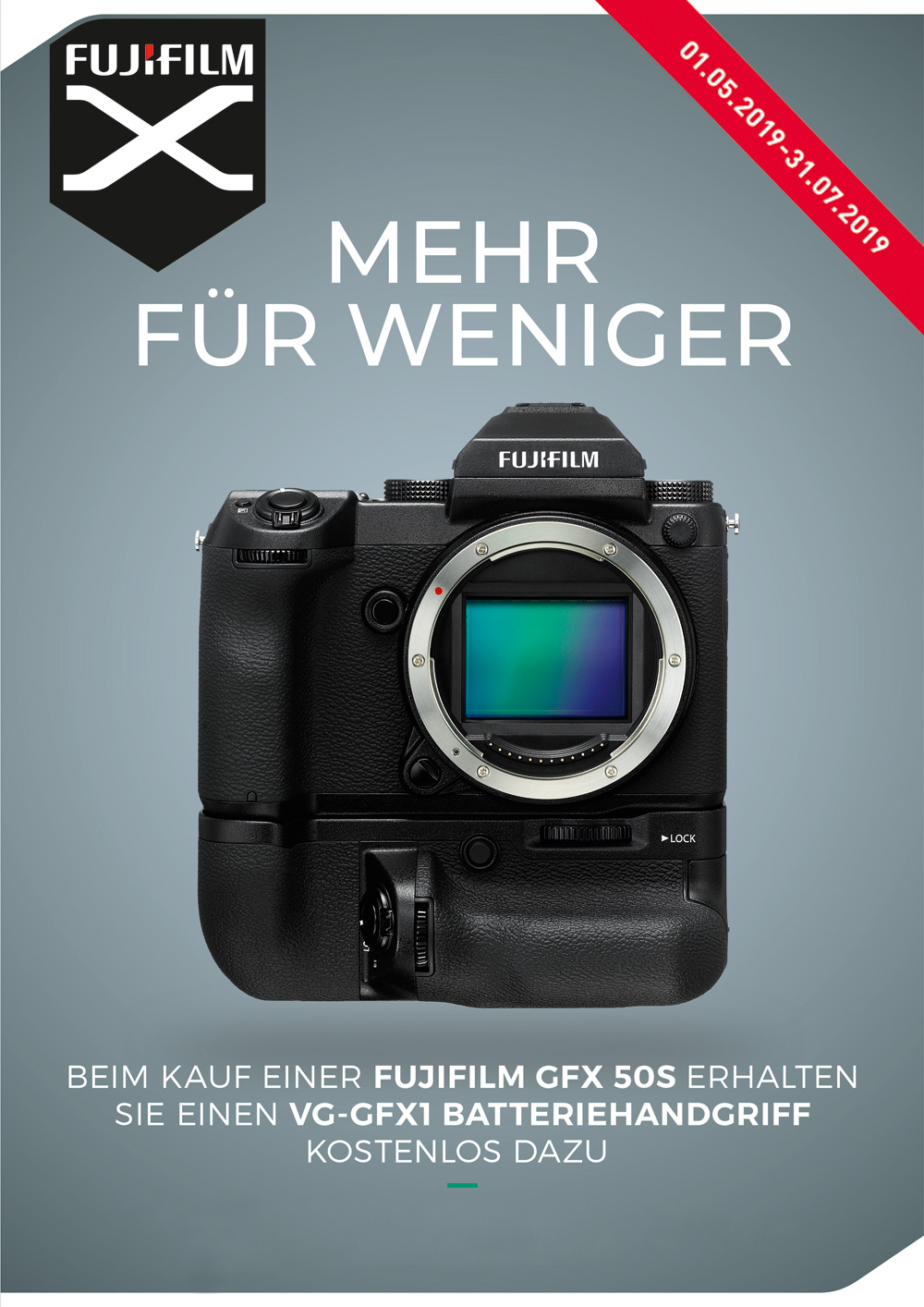 Fujifilm GFX 50S Aktion