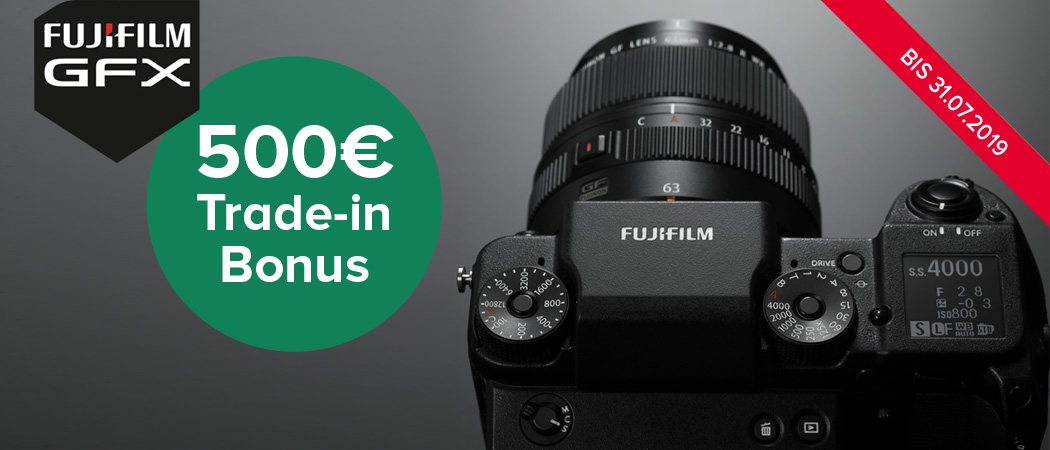 Fujifilm GFX Trade-in Aktion
