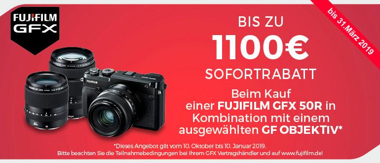 Aktion Fujifilm GFX Sofortrabatt
