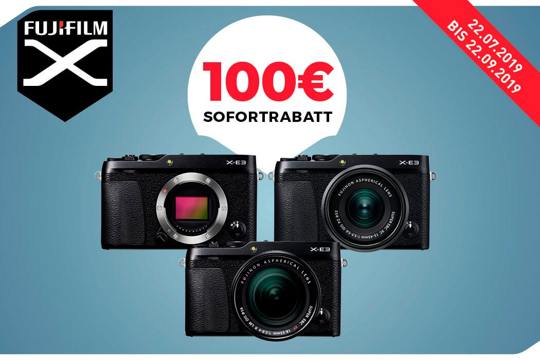 Fujifilm X-E3 Sofort-Rabatt