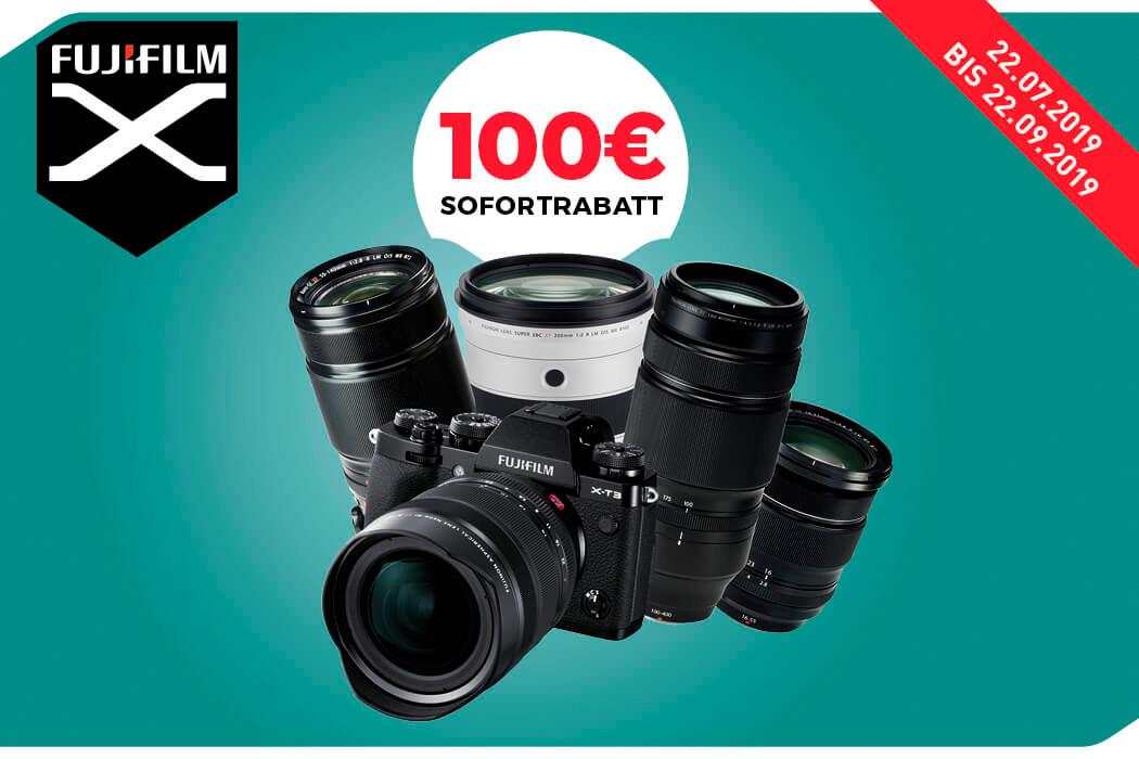 Objektiv-Rabatt zu Fujifilm X-T3