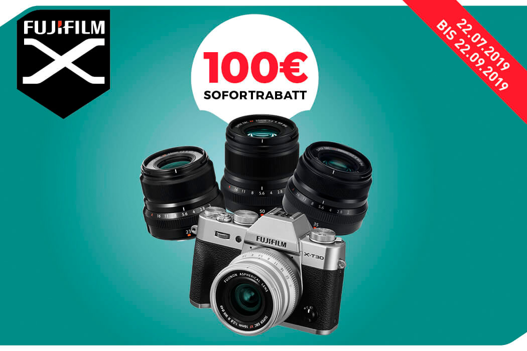 Objektiv-Rabatt zu Fujifilm X-T30