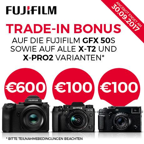Trade-in-Aktion Fujifilm