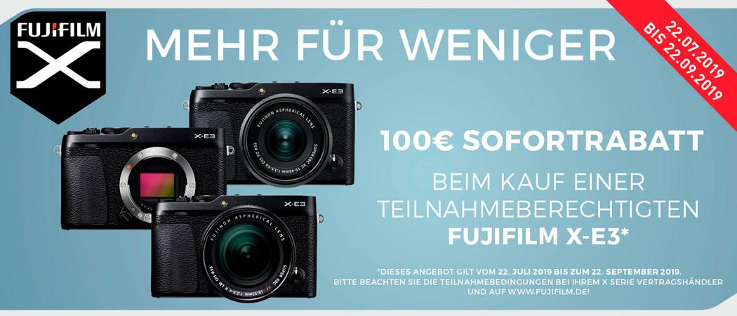 Fujifilm X-E3 Sofortrabatt