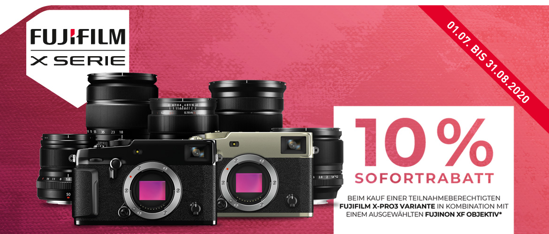 Fujifilm X-Pro3 Sofortrabatt Aktion