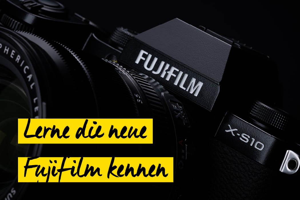 Fujifilm X-S10 Touch & Try Teaser