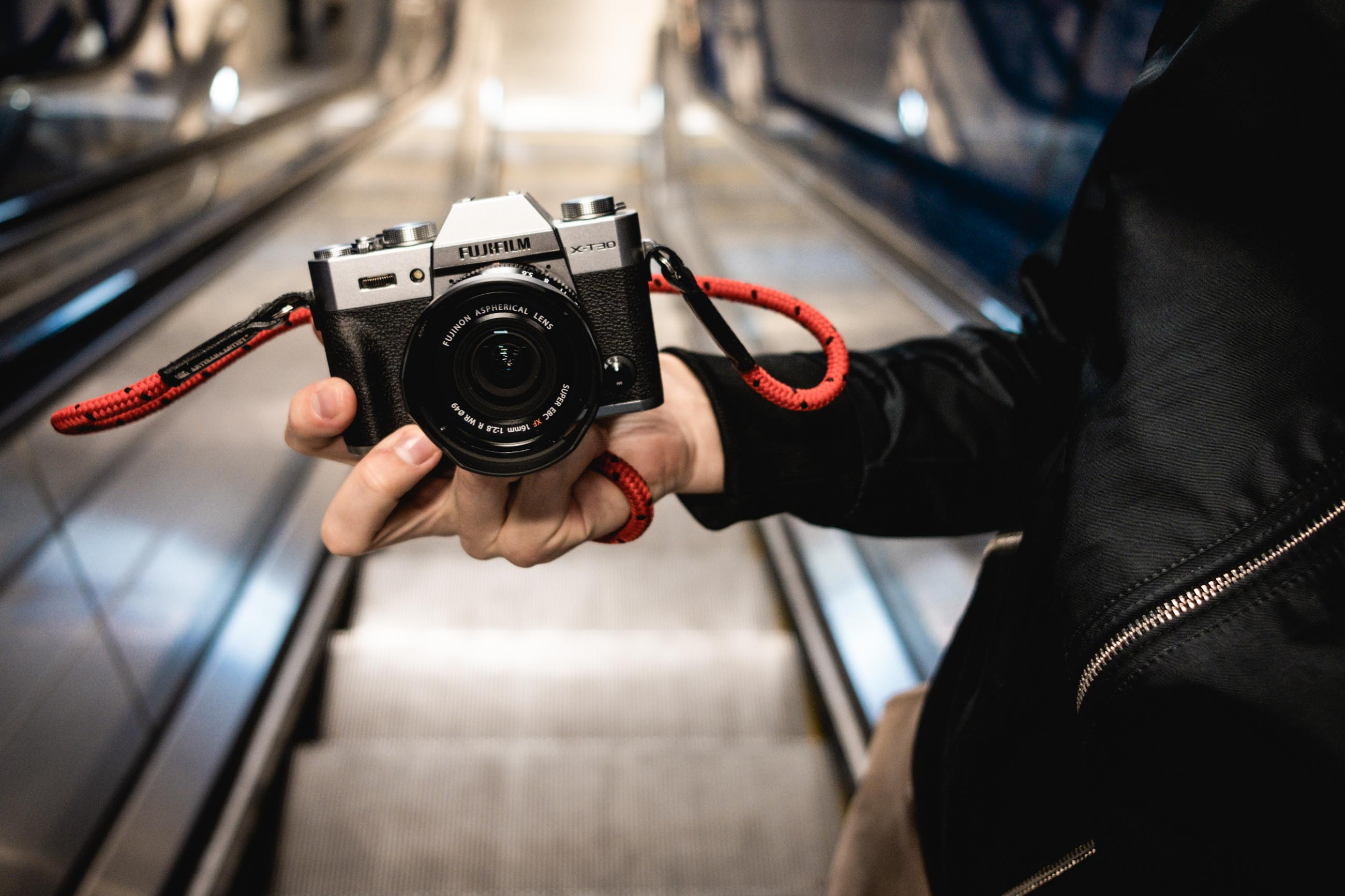 FujifilmX-T30 mit gurt;