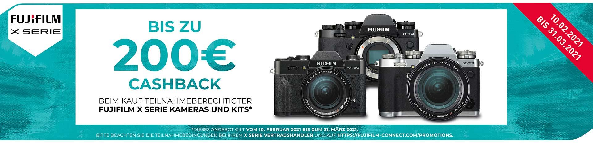 Fujifilm X-T3 Cashback
