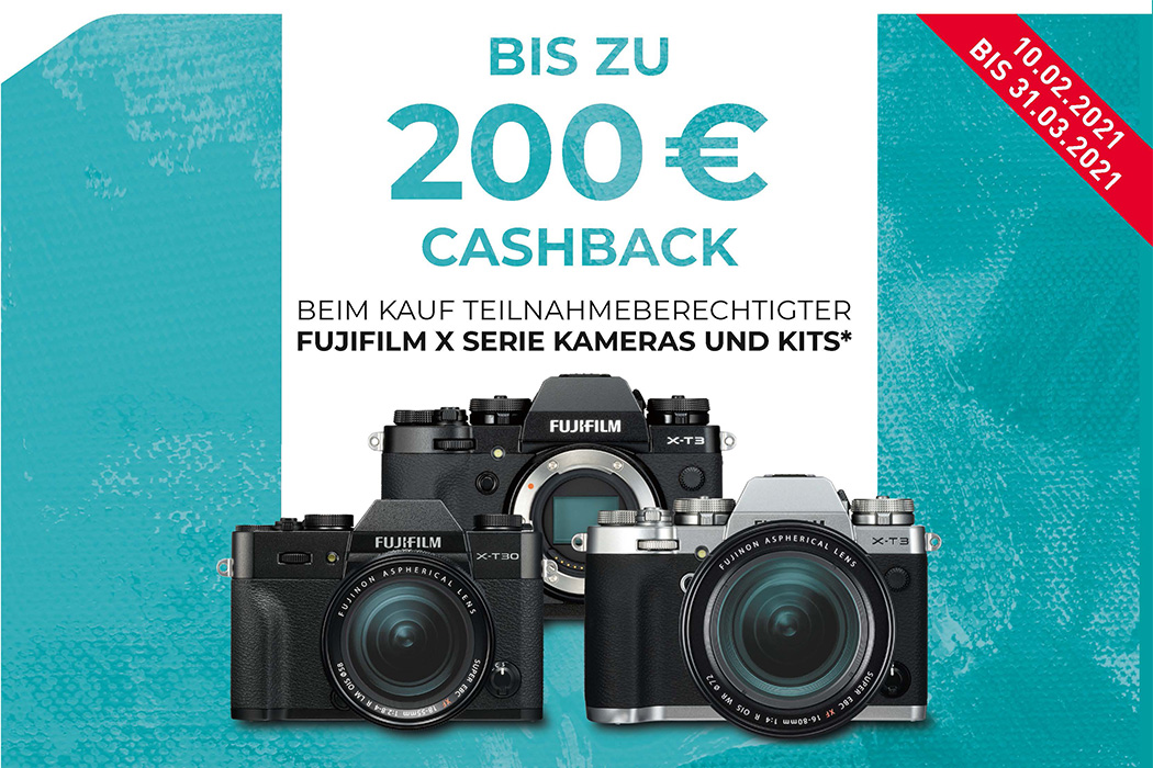 Fujifilm X-T3 und X-T30 Cashback