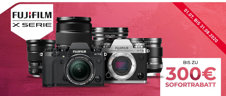 Fujifilm X-T3 + Objektive Sofortrabatt