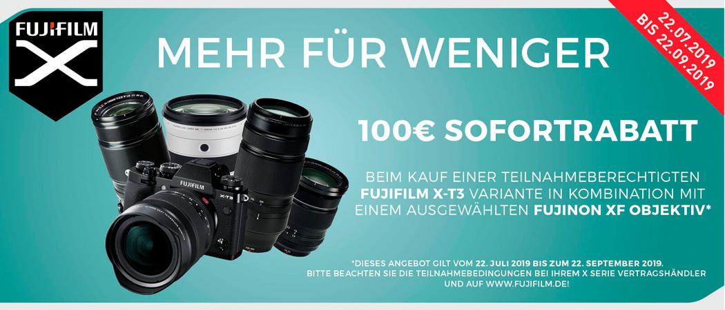 Fujifilm X-T3 Sofortrabatt