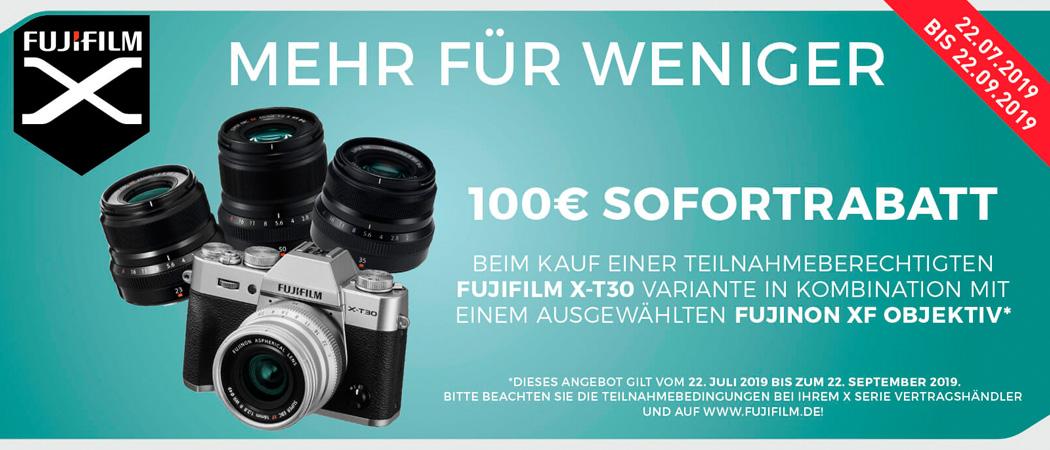 Fujifilm X-T30 Sofortrabatt