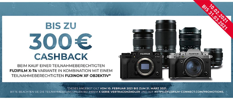 Fujifilm X-T4 Kombi Cashback