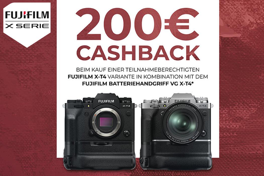 Fujifilm X-T4 Batteriegriff Aktion