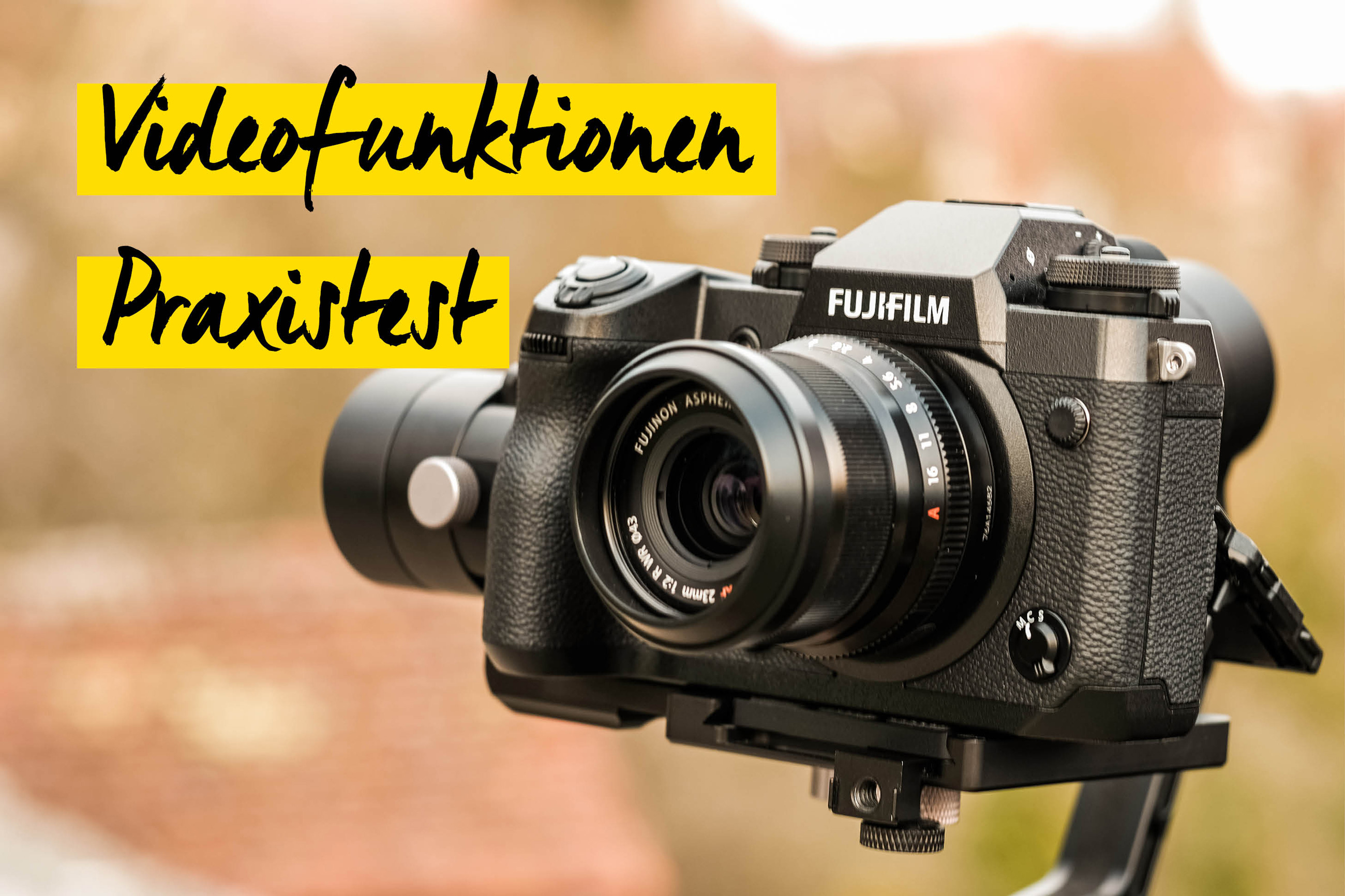 Teaser Video Fujifillm X-H1