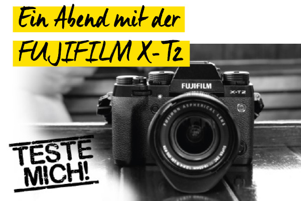 Ein Abend mit der Fujifilm X-T2