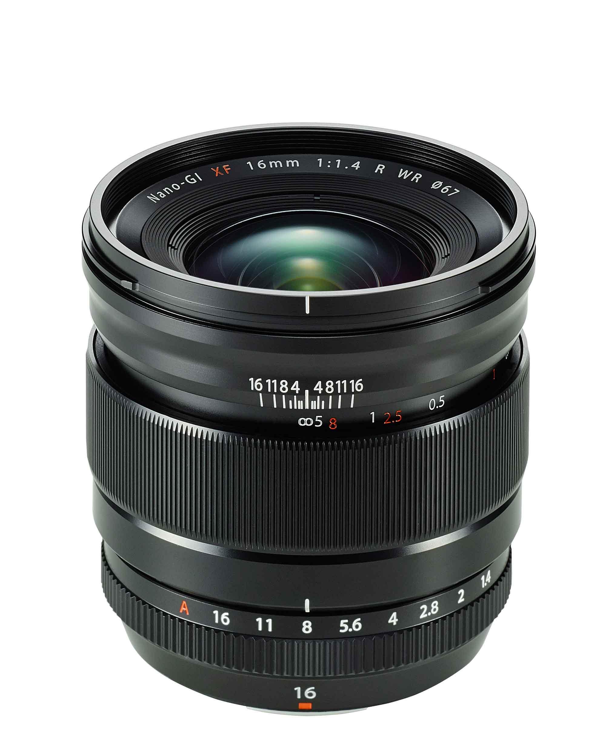 Fujinon 16mm f/1.4 Festbrennweite