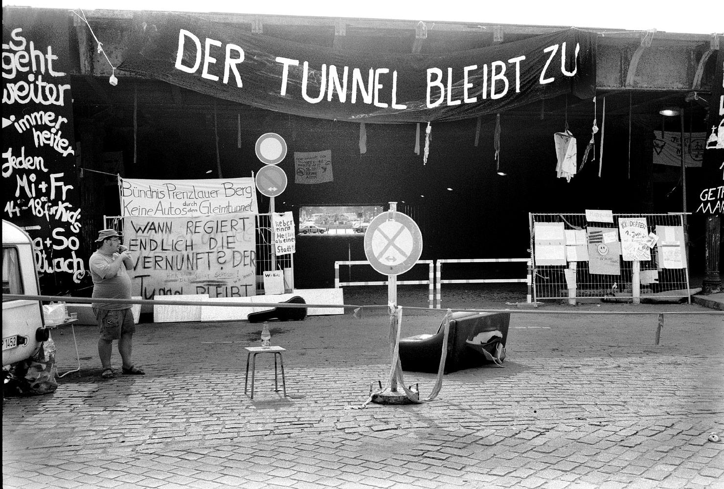 Gesperrter Tunnel