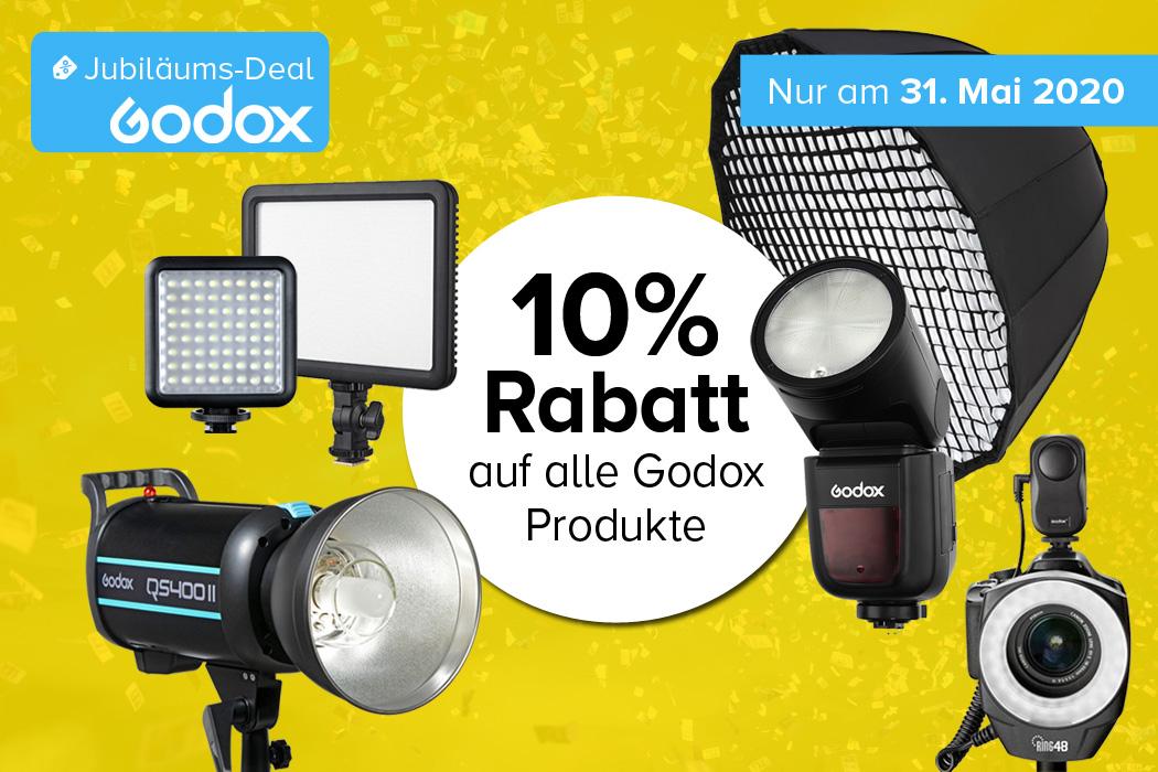 Godox Jubiläumsdeal