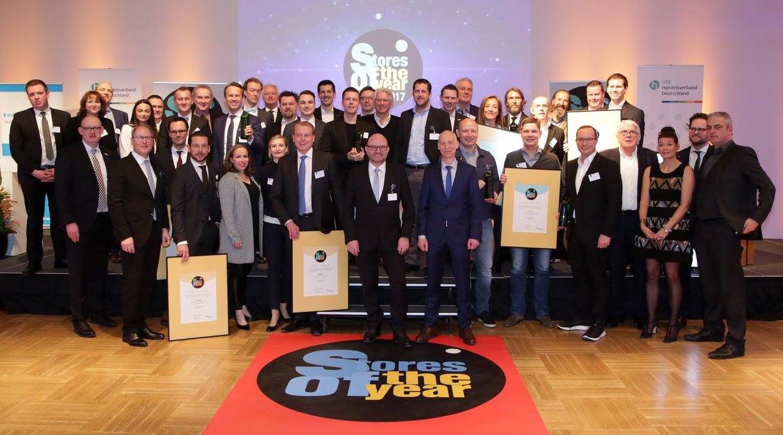 HDE Verleihung Store of the Year 2017