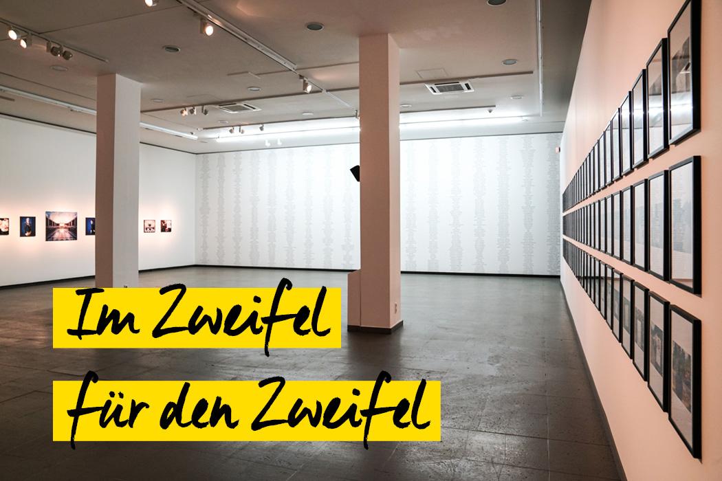 Im Zweifel fu00fcr den Zweifel: Die grou00dfe Weltverschwu00f6rung - Ausstellung im NRW Forum