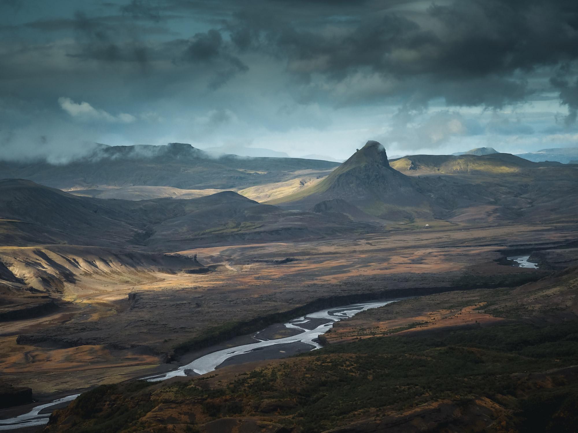 weite Landschaften in Island