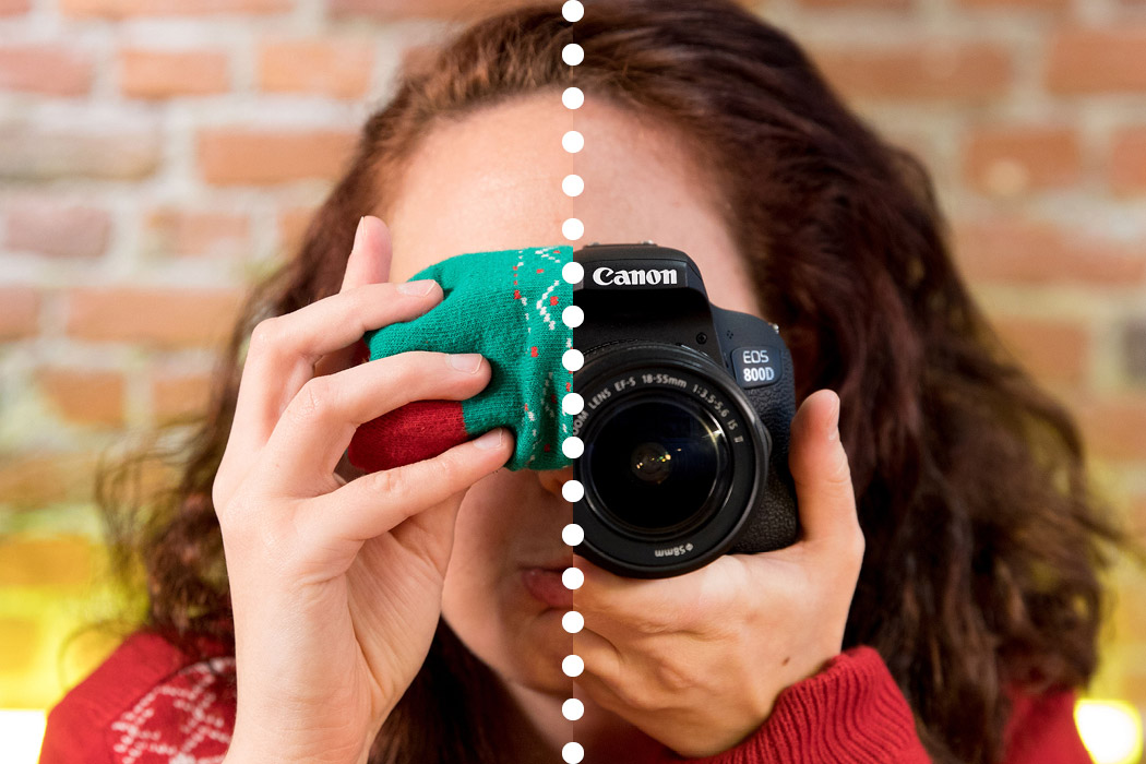 Geschenk Kamera - besser als Socken