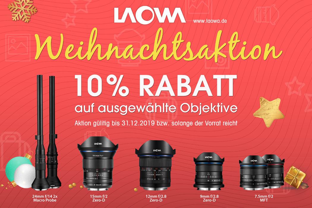 Laowa Rabattaktion