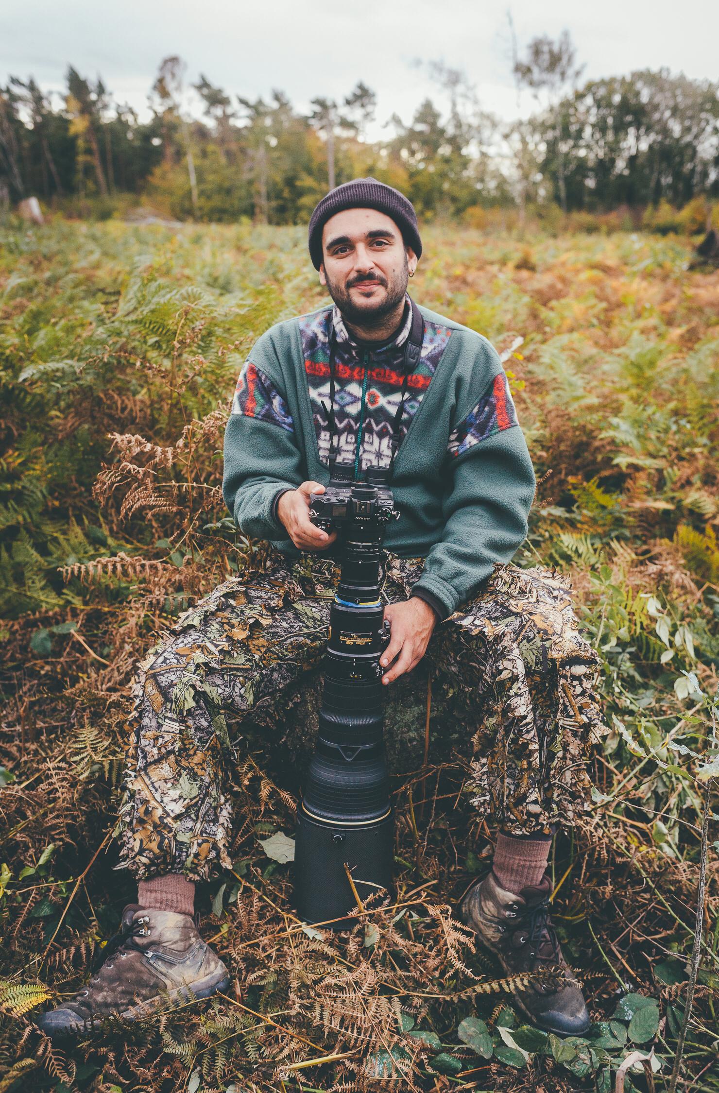 Livestream Wildlife- und Naturfotografie Alessandro Sgro
