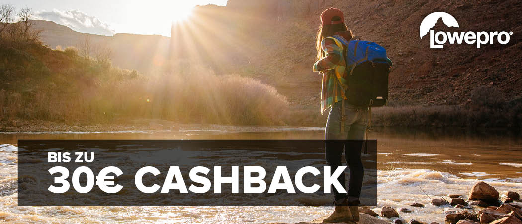 Lowepro Cashback Aktion
