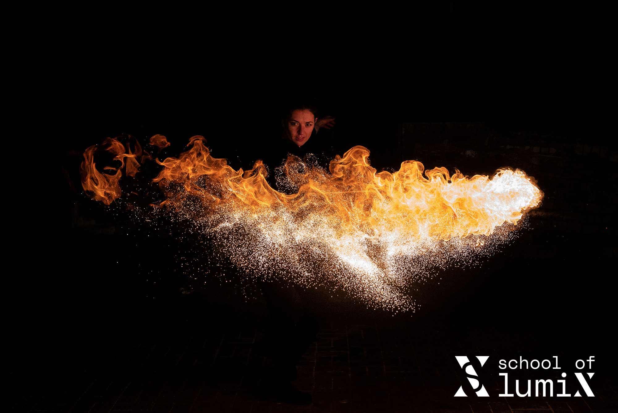 Fire Fotoevent Lumix