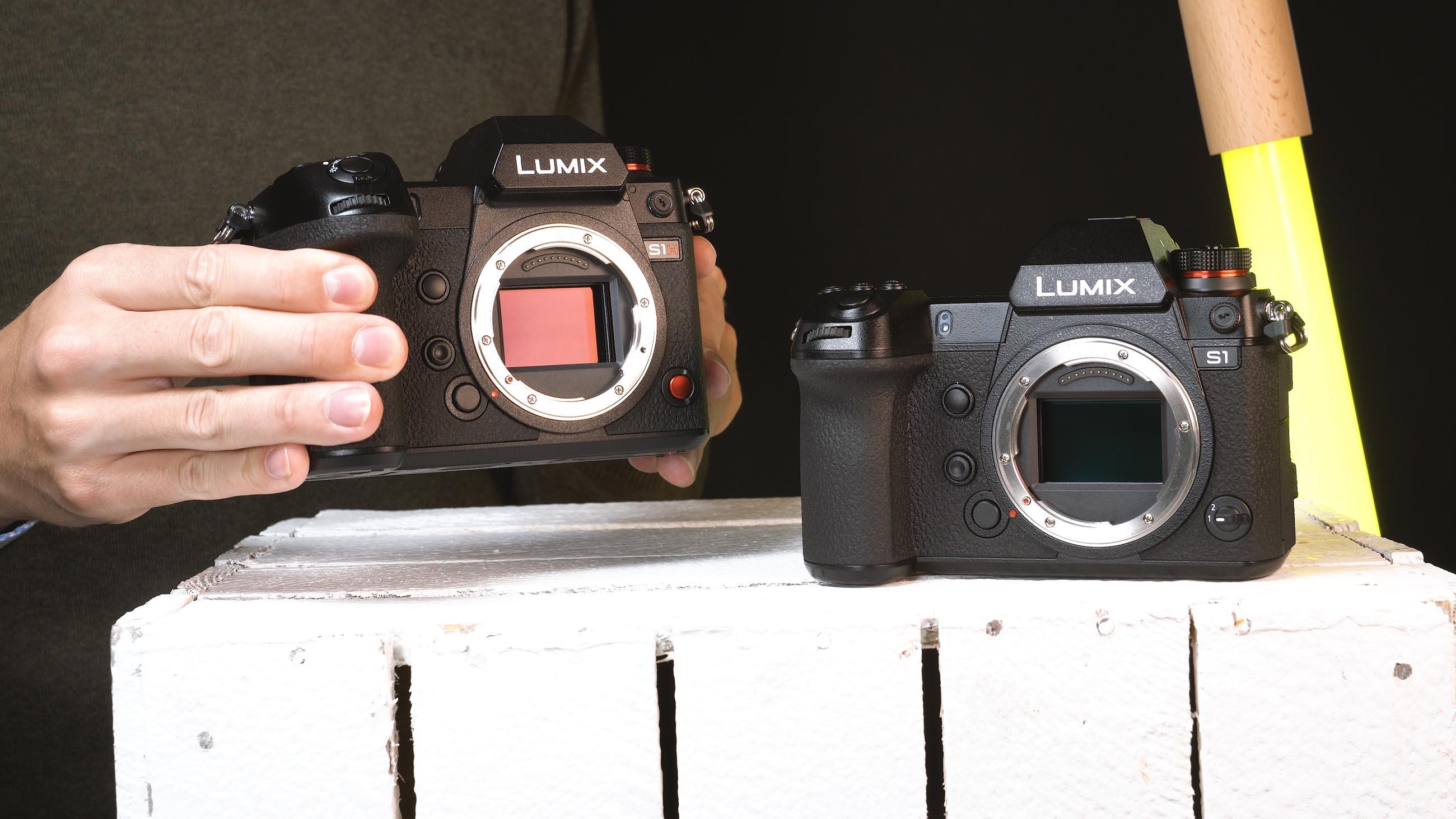 Sensor der Lumix S1H und S1
