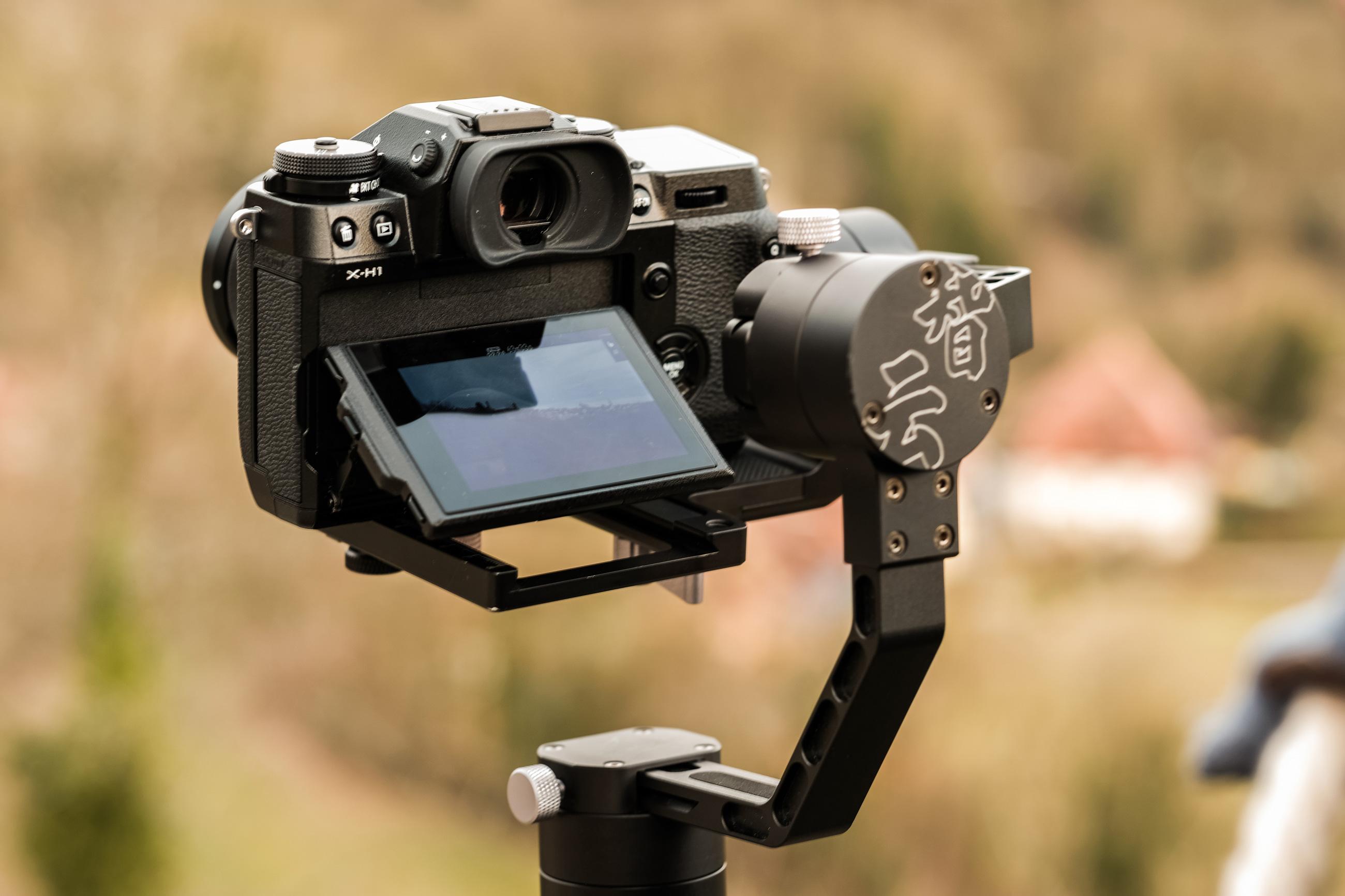 Fujifilm X-H1 mit Zhiyun Crane Gimbal