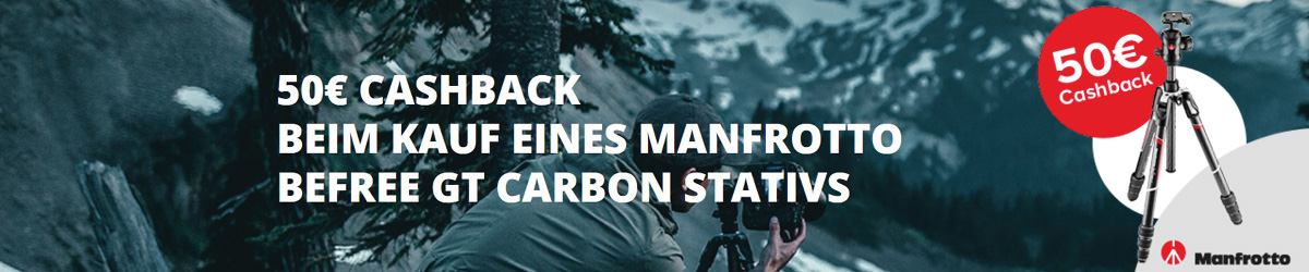Manfrotto Befree Cashback