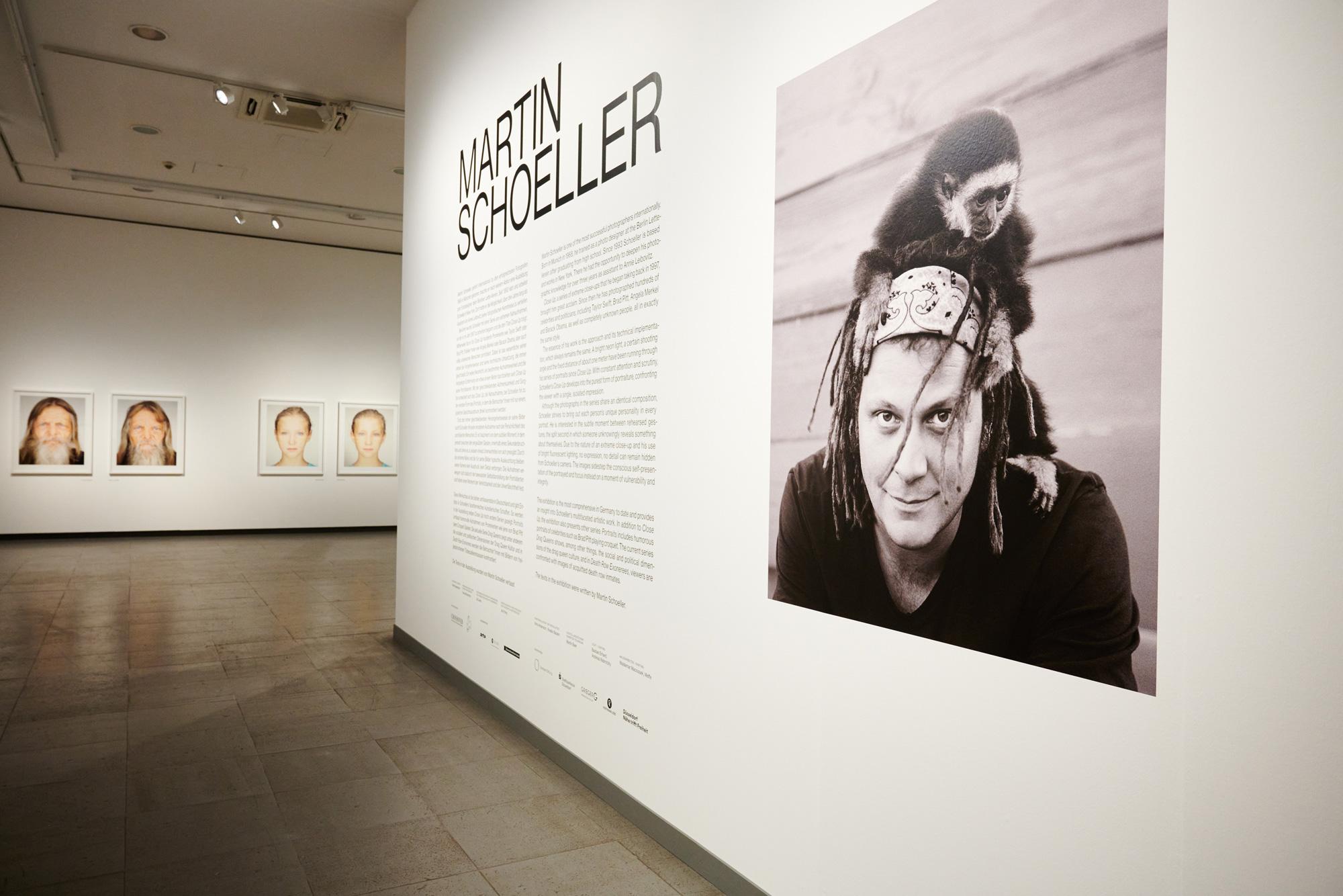 Martin Schoeller Ausstellung NRW Forum Düsseldorf
